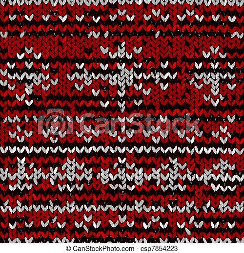 Saltador de Navidad - csp7854223