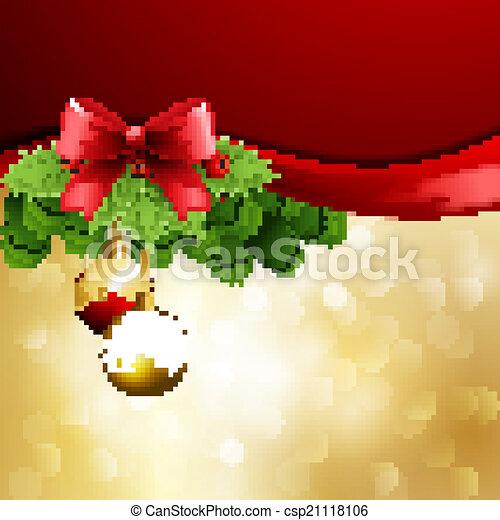 Saludos de Navidad - csp21118106