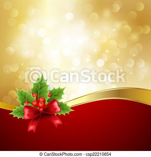 Saludos de Navidad - csp22210654