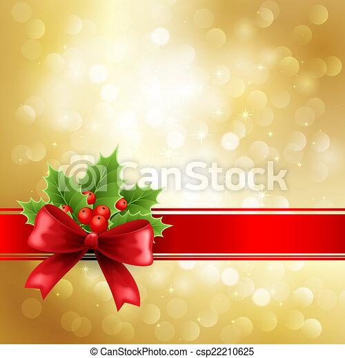Saludos de Navidad - csp22210625