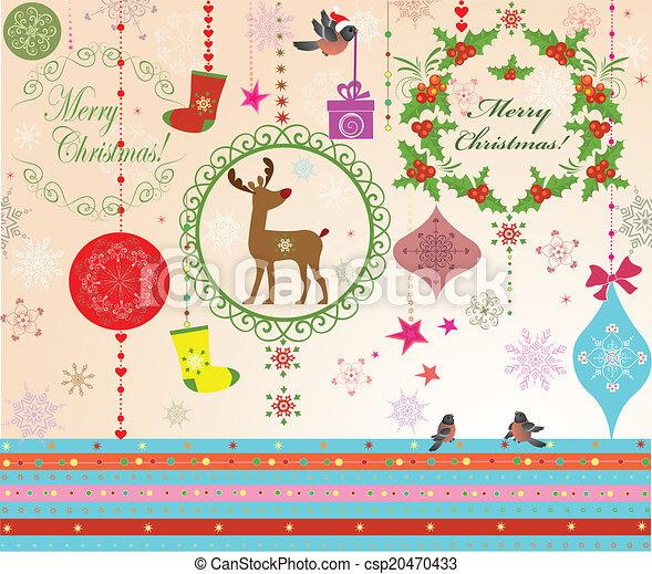 Saludos de Navidad - csp20470433