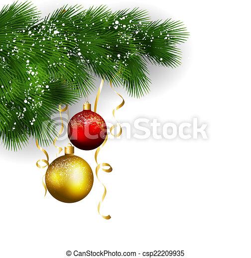 Saludos de Navidad - csp22209935