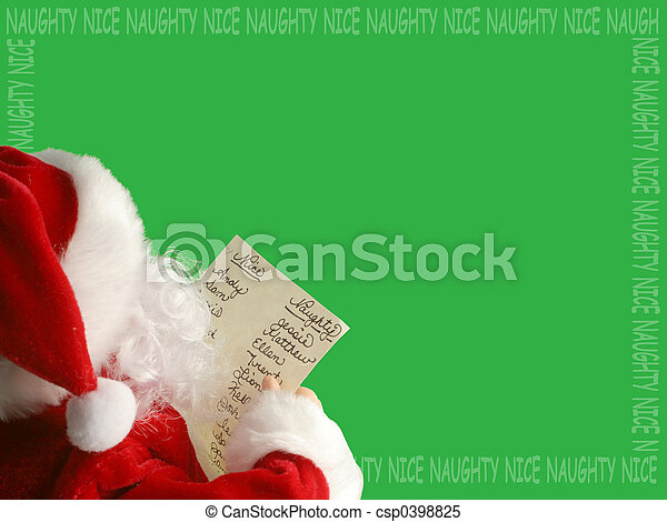 Santa Navidad - csp0398825