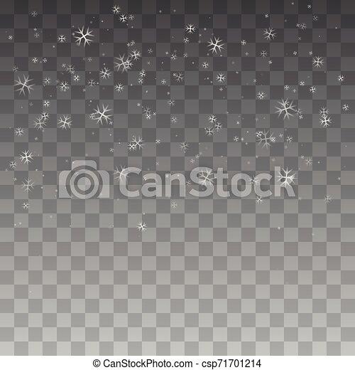 Nieve navideña. - csp71701214