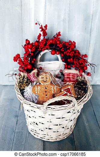 Tarjeta de Navidad - csp17066185