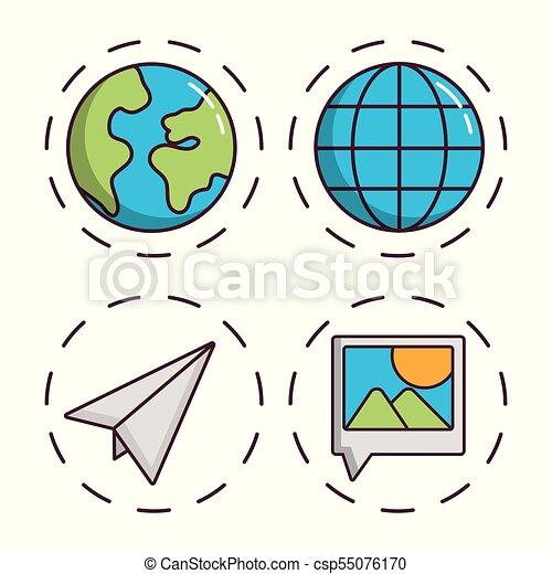navigation and location design - csp55076170