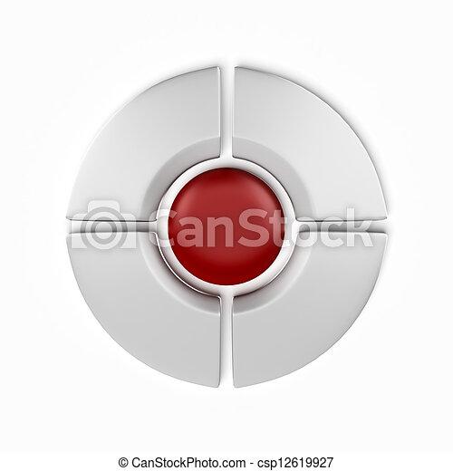 Navigation Buttons - csp12619927