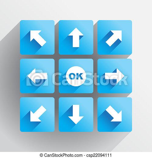 Navigation buttons - csp22094111