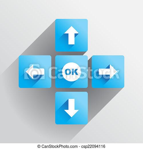 Navigation buttons - csp22094116