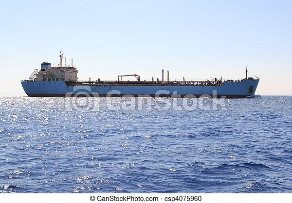 navigazione, chimico, trasporto, costa, petroliera, barca - csp4075960