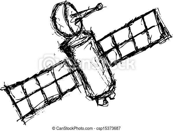 navio, 2, grunge, espaço - csp15373687