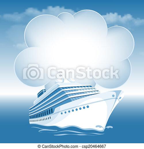 navio linha regular passageiro, cruzeiro - csp20464667