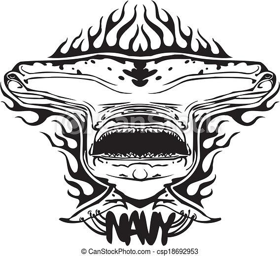 NAVY Military Design - Vector illustration. - csp18692953