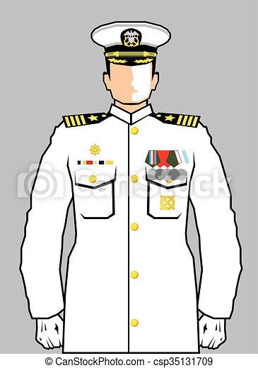 Navy Officer - csp35131709