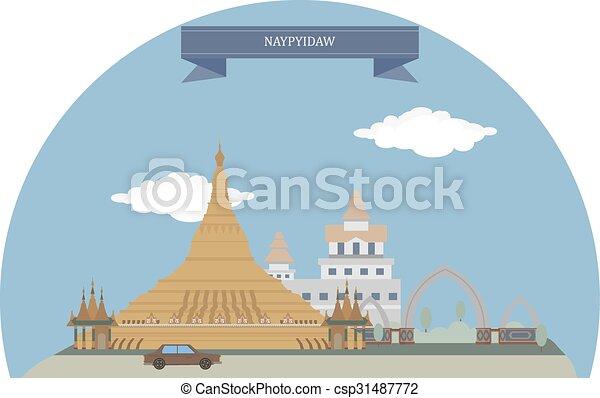 Naypyidaw, Myanmar - csp31487772
