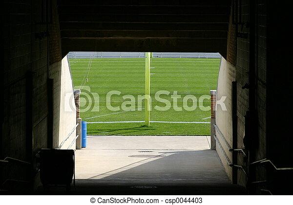 ND stadium tunnel - csp0044403