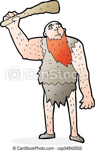 Neandertaler Zeichentrick