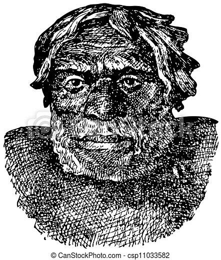neanderthal, uomo - csp11033582