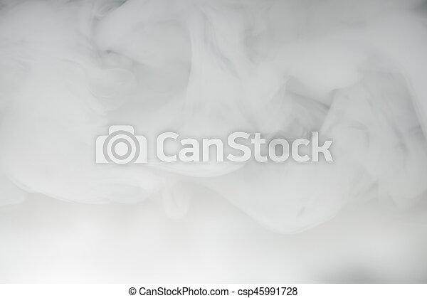 nebbia, denso, fumo, fondo - csp45991728