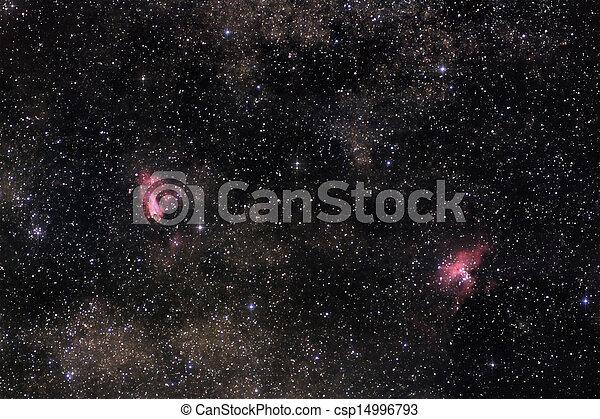 Nebulae of Milky Way - csp14996793