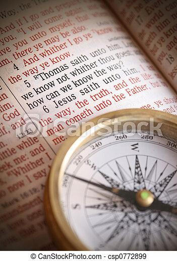 Need Direction  Jesus is the way  John 14:6 - csp0772899
