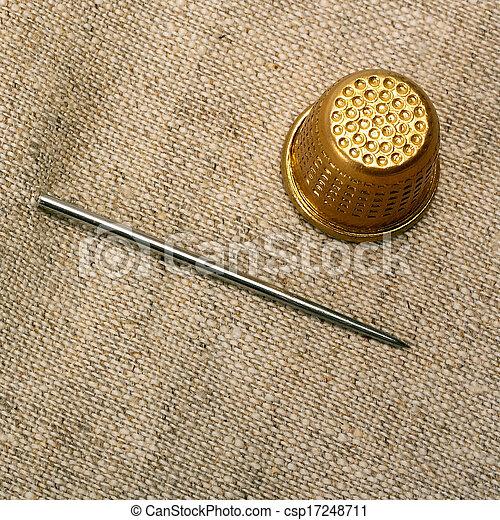 needle thimble - csp17248711