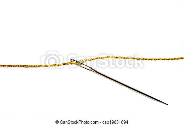 Needle thimble - csp19631694