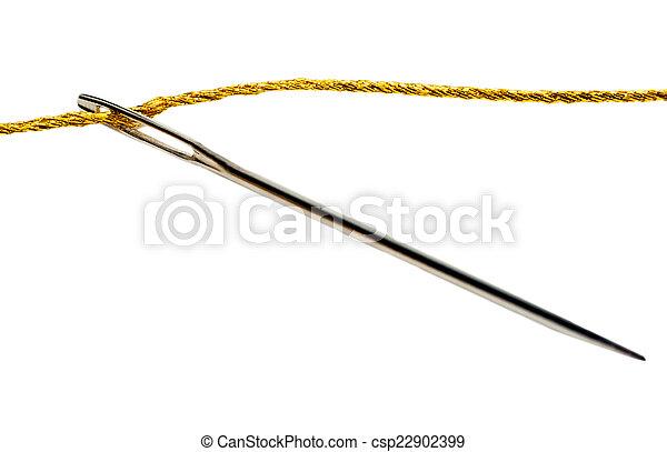 Needle thimble - csp22902399