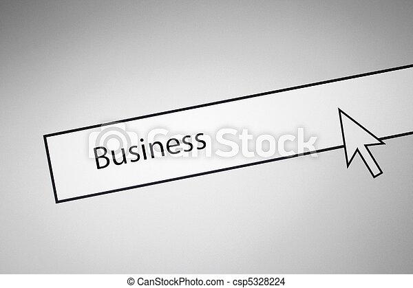 negócio - csp5328224