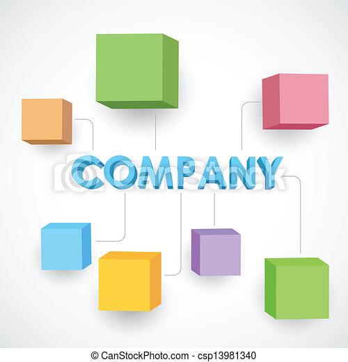 negócio, estrutura - csp13981340