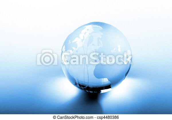 negócio global - csp4480386