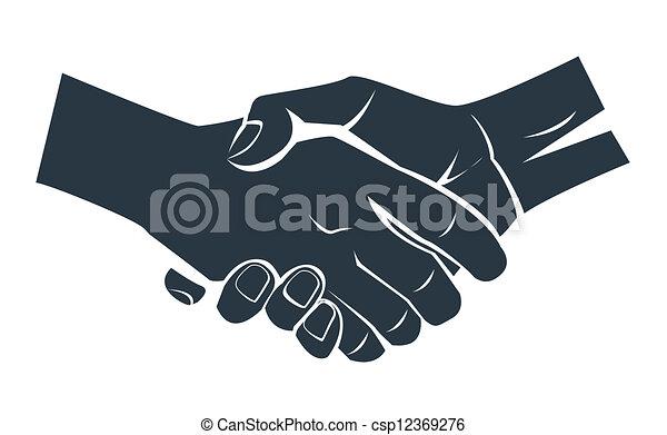negócio, mão - csp12369276