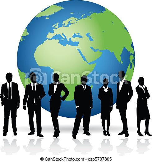 negócio mundo - csp5707805