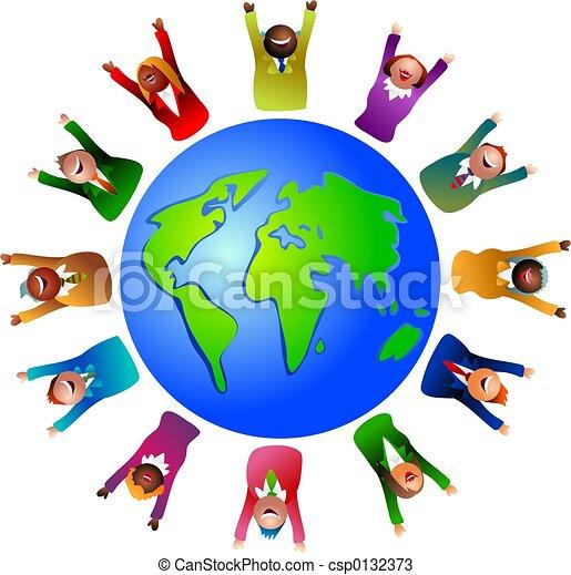 El mundo de los negocios - csp0132373