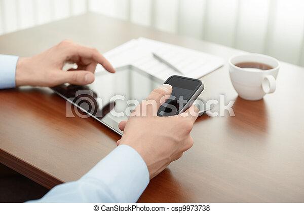 negocio moderno - csp9973738
