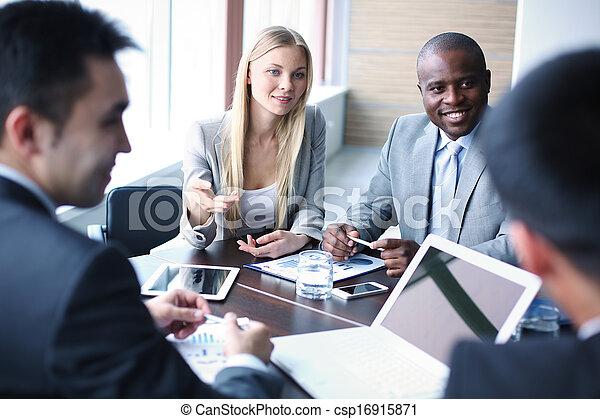 Negotiation - csp16915871