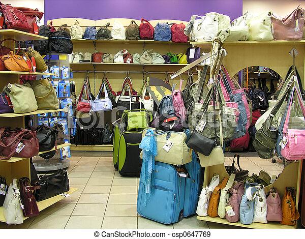 negozio, borse - csp0647769
