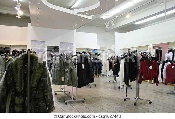 negozio, vestiti - csp1827443