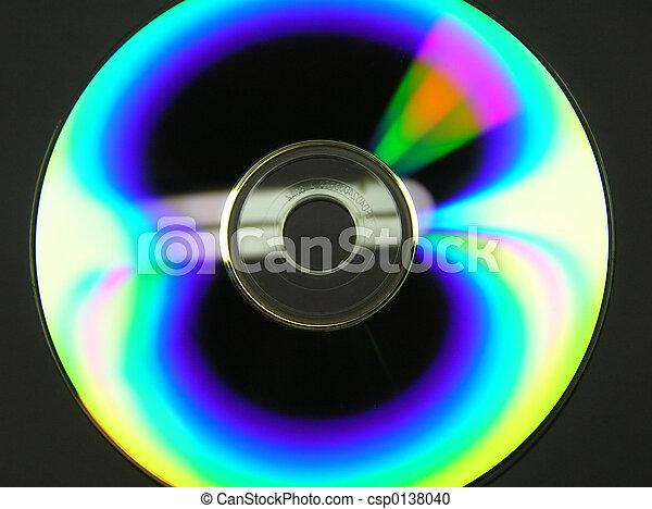 CD en negro - csp0138040