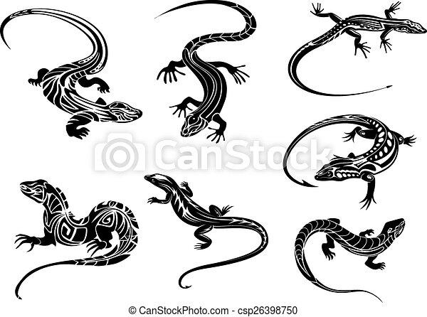 Negro lagartos Imagenes Stock Photo. 7.323 Negro lagartos retratos y ...