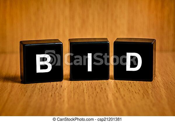 Haz una oferta en el bloque negro - csp21201381
