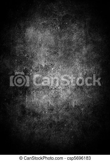 Black grunge, un fondo abstracto - csp5696183