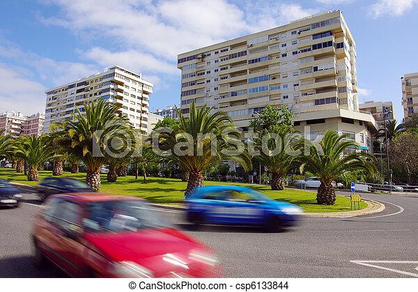 Neighborhood unrest - csp6133844