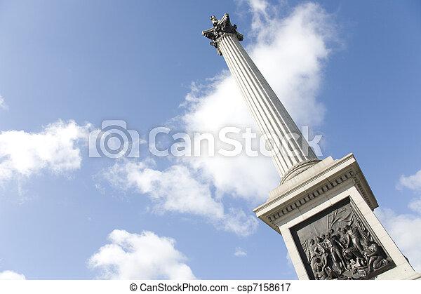 Nelson's Column in Trafalgar Square - csp7158617