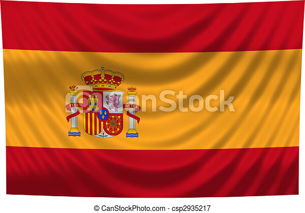 nemzeti lobogó, spanyolország - csp2935217