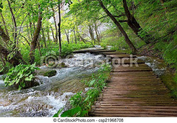 nemzeti park, plitvice - csp21968708