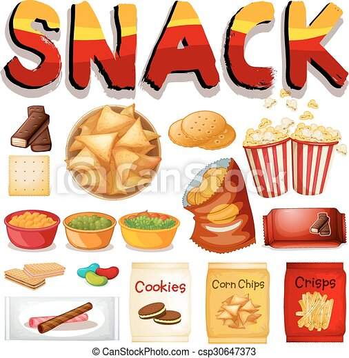 neobvyklý, snack, druh - csp30647373