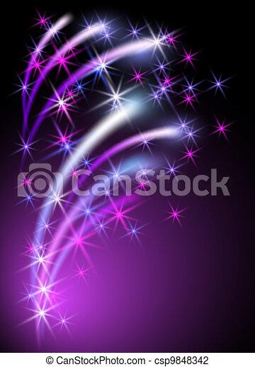 Neon background - csp9848342