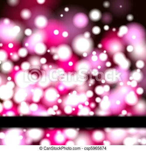 Neon Banner - csp5965674