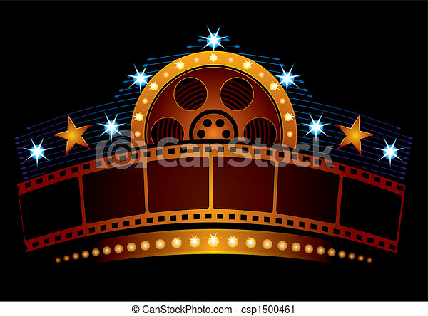 neon, cinema - csp1500461